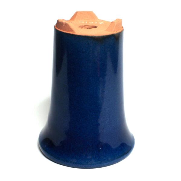 Bonsaikruka, blå, kaskadkruka, bonsai pot, cascade pot
