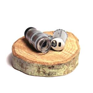 Fickmikroskop, juvelerarlupp, för identifikation av skadedjur.
