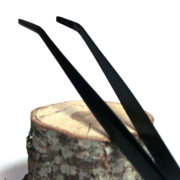 Pincett med spatel för bonsai.